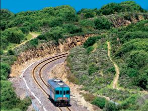 Sardegna in treno