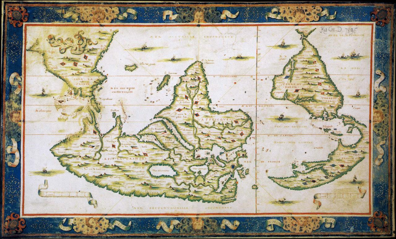 Cartina Mondo Touring.Il Viaggiatore Il Mondo Sottosopra Touring Magazine