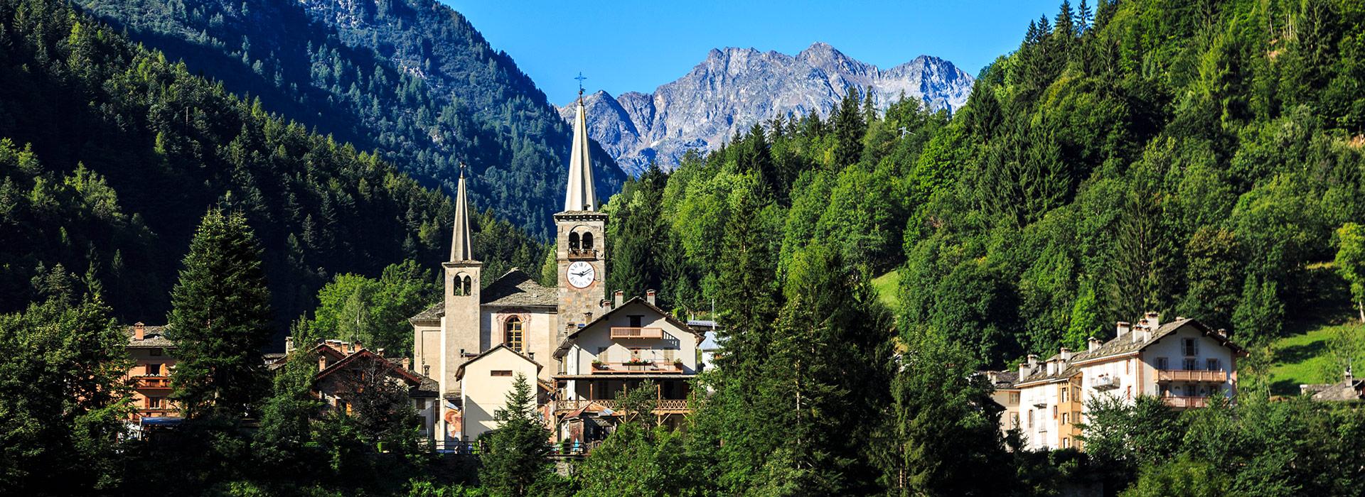 Riva Valdobbia, storico Comune, oggi frazione di Alagna Valsesia