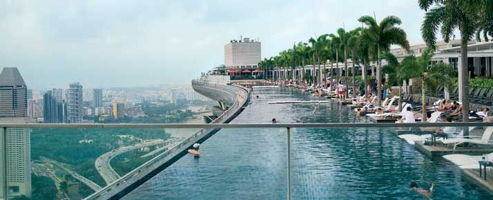 Albergo a singapore con piscina sul tetto interesting la - Albergo a singapore con piscina sul tetto ...