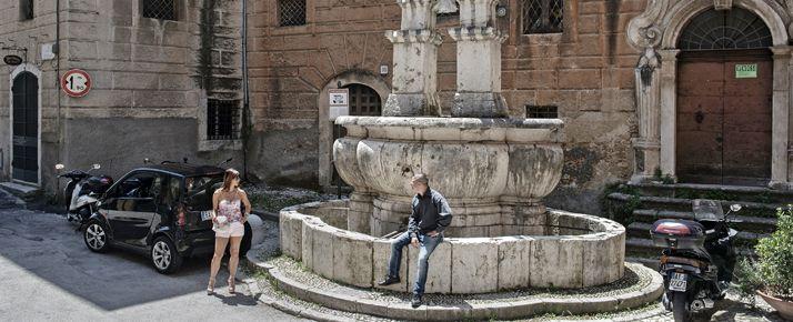 Lazio modello ciociaria touring magazine - Giardini dell acropoli arpino ...