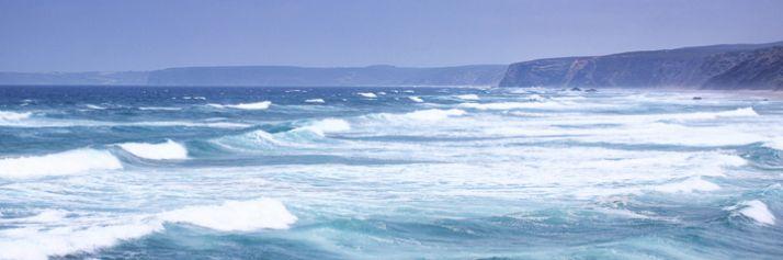 La costa dell'Algarve vicino Carrapateira