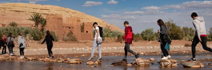 Alle porte del deserto, studenti di Vimercate ad Ait-Ben-Haddou