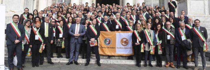 I sindaci dei Comuni Bandiera Arancione a Genova