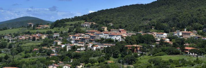 Panorama di Castellina Marittima
