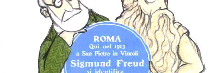 Sigmund Freud a Roma visto da Gianluca Bisalchin